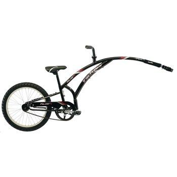 Adams Trail-A-Bike Original Folder, Black front-567600