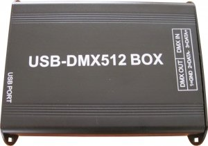 Pack Of One (1), Dmx Master Controller With Usb Interface For Pc