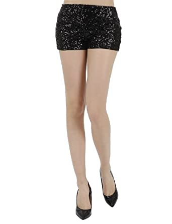 sequin short shorts