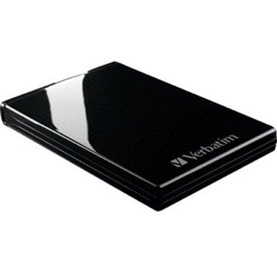 Verbatim Acclaim 500 GB USB 2.0 Portable External Hard Drive 97165 (Piano Black)