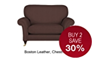 Salisbury Loveseat - Leather