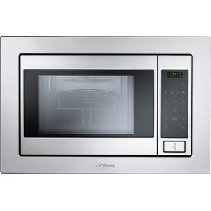 Smeg FME20TC3 microwave ovens in Stainless Steel