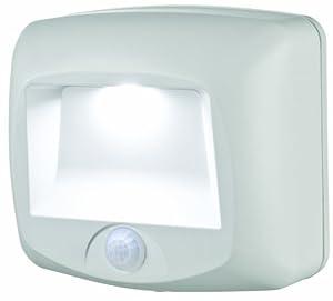 mb 530 battery operated indoor outdoor motion sensing led step light. Black Bedroom Furniture Sets. Home Design Ideas