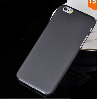 Kaira Brand Premium Ultra thin Ultra light Black Soft Frosted Matte case cover for Apple Iphone 6 (4.7 inch)