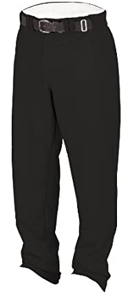 Rawlings Youth Relaxed Fit YBP31MR Baseball Pant, Black, Youth X-Large