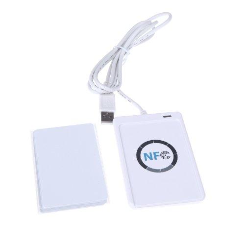 KKMOON NFC ACR122U RFID à puce sans contact Lecteur & Graveur / USB + SDK + IC Card