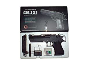 CM121 CM.121 airsoft gun aeg automatic metal bb pistol weapon CM 121 D.E. AEP METAL GEARBOX Pointa