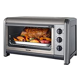 Oster 6078 6-Slice Extra Capacity Toaster Oven/Convection Oven, Stainless Steel