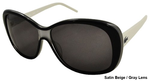 Lacoste – Ladies Fashion Sunglasses L610S-035 Satin Beige Frame/Gray Lens