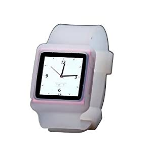 iAccy IN6W002 Watch Case for iPod Nano 6 (White)