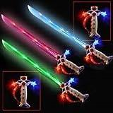 Swashbuckler LED Pirate Light up Sword with Sound