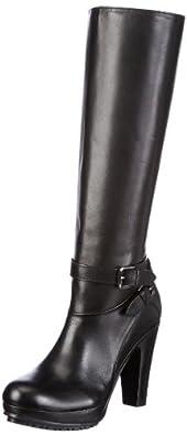 Buffalo London 1016-7 N COW 146030, Damen Stiefel, Schwarz (BLACK 01), EU 40