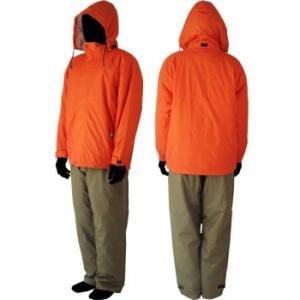 防水防寒上下セット (コート/パンツ) A1-2011 オレンジ