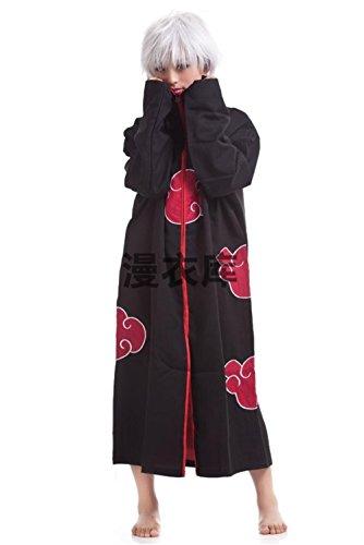 [Cosplay Akatsuki Orochimaru Uchiha Madara Sasuke Itachi Costume Cloak Uniform] (Madara Uchiha Halloween Costume)