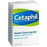 Special pack of 6 CETAPHIL GENTLE CLEANSING BAR 4.5 oz