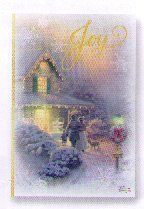 PX2895 Thomas Kinkade Victorian Joy Hallmark Boxed Christmas Cards