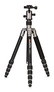 MeFoto A1350Q1T Roadtrip Travel Tripod Kit (Titanium)
