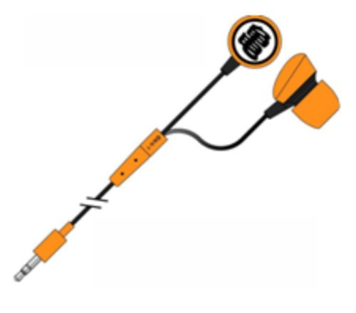 ''Dragon Ball'' Character Earbud Headset [Japan Import]