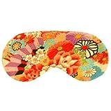 Cris Notti Sleep Mask - Red Flower Kimono