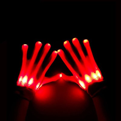 ASSIS-Happy-Holloween-Flashing-Red-LED-Gloves-Light-Up-Halloween-Dance-Rave-Party-Carnival-Halloween-Christmas-as-Propsred