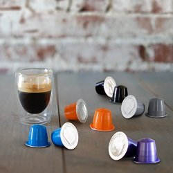 50 Jones Brothers Nespresso Compatible Capsules - Variety Pack - 100% Arabica Nespresso Coffee Cups (5 Blends - 50 Pods)