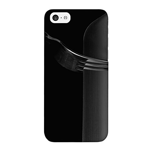 Knife And Fork Full Wrap High Quality 3D Printed Case, Snap-On Cover For Iphone 5C By Mick Agterberg