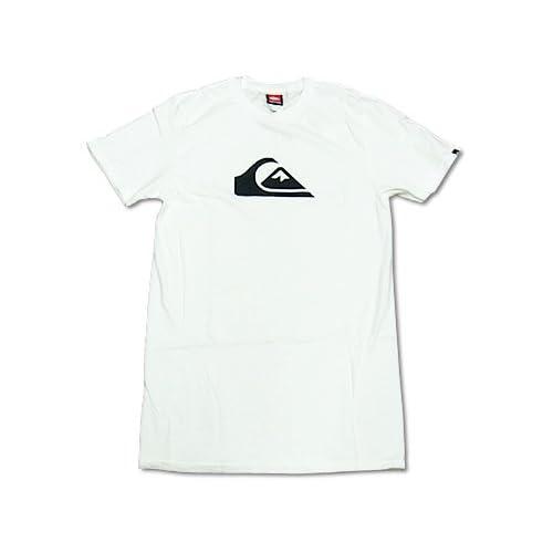 クイックシルバー QUIKSILVER 半袖Tシャツ マウンテンウェーブ ホワイト M
