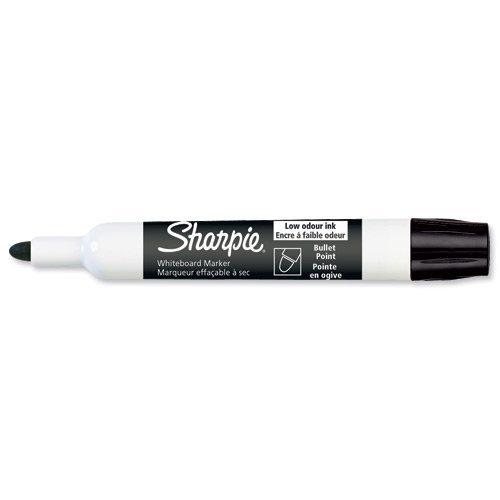 SHARPIE Lot de 3 Marqueurs pour tableau blanc, pointe ogive, noir