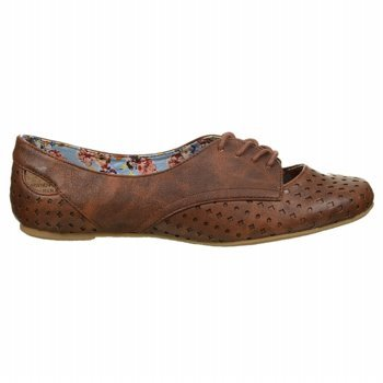 Not Rated Women'S High Friend Oxford,Tan,7.5 M Us