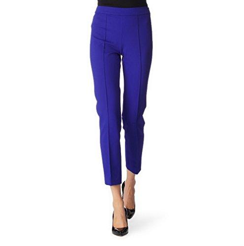 maxmara-womens-knit-french-seam-stretch-fit-calitea-pants-sz-6-electric-blue-100593