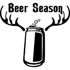 Beer Season Vinyl Decal Sticker Cars Trucks Vans Walls Laptops Beer Fridge BLACK 5.5 In 5.5 In KCD587