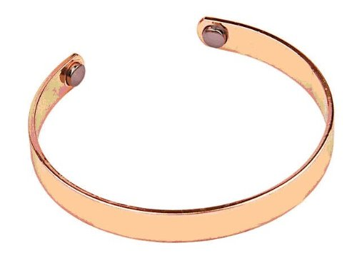 Copper Magnetic Bracelet for Men or Women Medium Size