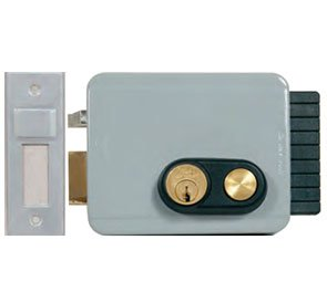 Viro V97 Electric Lock With Button Outward Rh