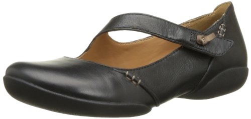 ClarksFelicia Plum - Ballerine chiuse donna, Nero (Black - Schwarz (BLACK LEATHER)), 39