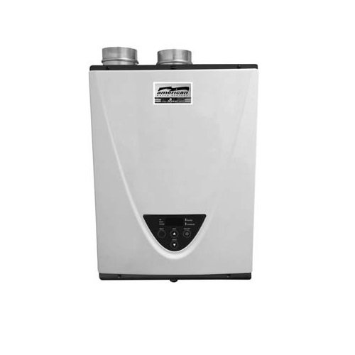 American GT-540-NIH 199,000 BTU 3-Inch PVC NG Res Tankless Water Heater (American Water Heater Tankless compare prices)
