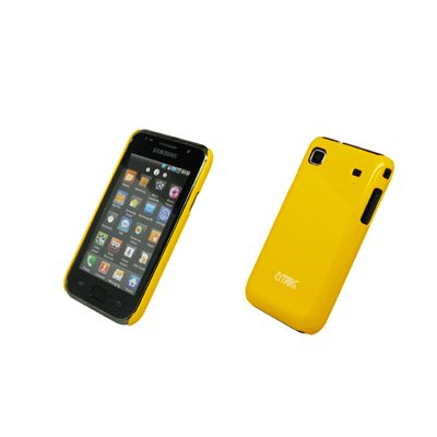 EMPIRE Yellow Stealth Back Snap-On Cover Case for T-Mobile Samsung Vibrant T959
