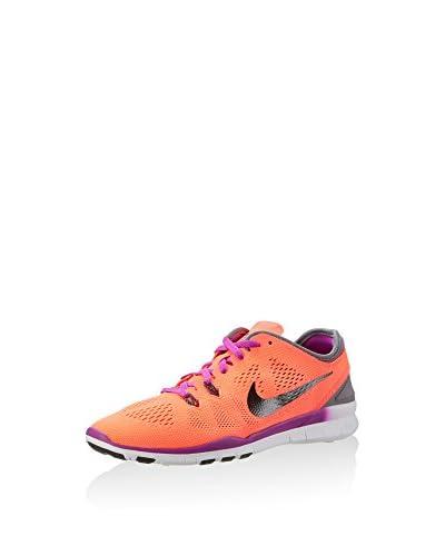 Nike Zapatillas Free 5.0 TR Fit 5 Gris Oscuro / Naranja