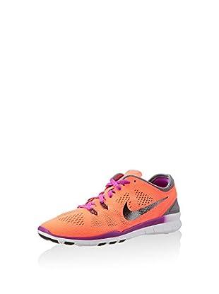 Nike Zapatillas Free 5.0 TR Fit 5 (Naranja / Gris / Lila)