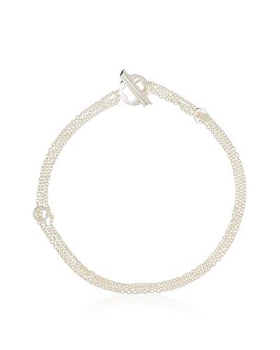 Montblanc Collar 3 Rows plata de ley 925 milésimas