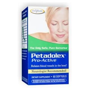 Petadolex Pro-Active, 60 Softgel by Enzymatic Therapy