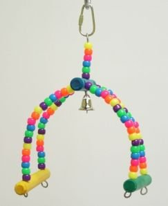 Zoo Max DUS415 Rock and Roll 8x4in Small Bird Toy