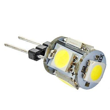 G4 70-80LM 1, 5 X 5050 SMD, Weißes Licht, LED, 12 V