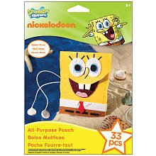 EK Success Nickelodeon SpongeBob Squarepants All Purpose Pouch Kit - 1