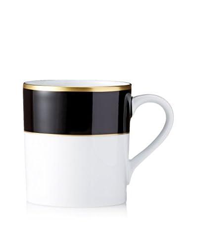 Haviland Color Block Mug, Gold/Black