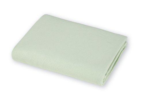 American Baby Company Organic Interlock Crib Sheet, Sage