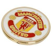Manchester United Man Utd Fc Golf Ball Marker - Official Merchandise