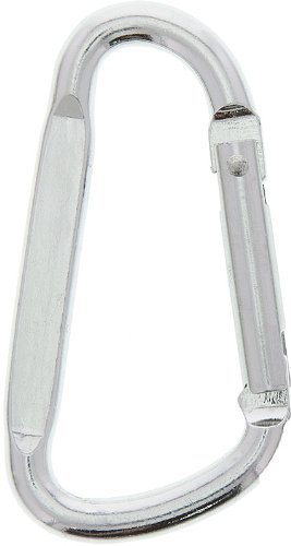 HTS 273Q0 Four 70mm Aluminum Carabiner Snap Hooks