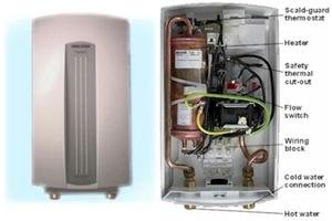 Stiebel Eltron Dhc 4-2 Electric Tankless Water Heater, 208/240 Volts