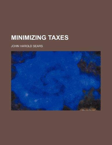 Minimizing Taxes
