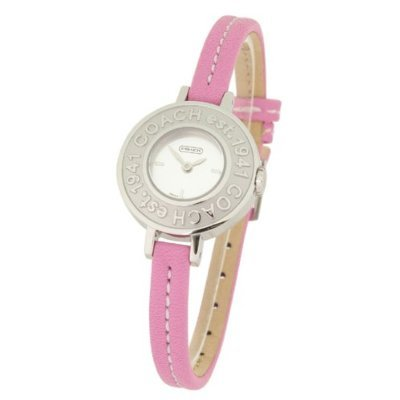 COACH Watches:Coach Watches- Coach Heritage with Signature Bezel and Case Back Women's Watch Images